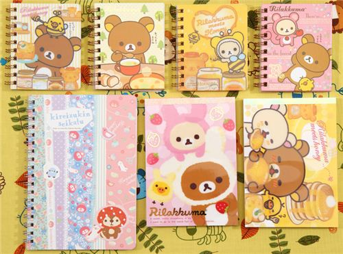 also new stuff from the 'Rilakkuma meets honey' collection