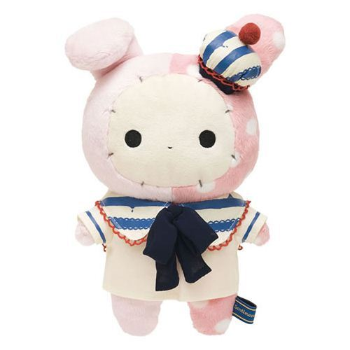 pink Sentimental Circus rabbit sailor plush toy