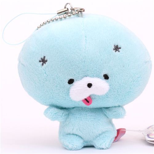 turquoise Zombbit zombie animal rabbit Nonbi plush charm