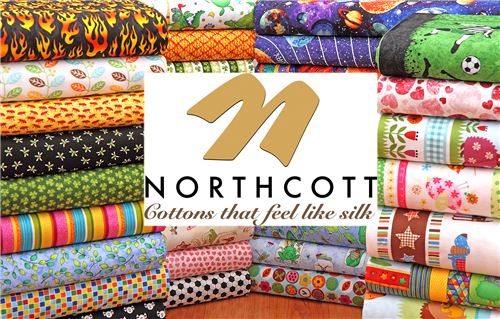 We now carry Northcott fabrics on modes4u.com