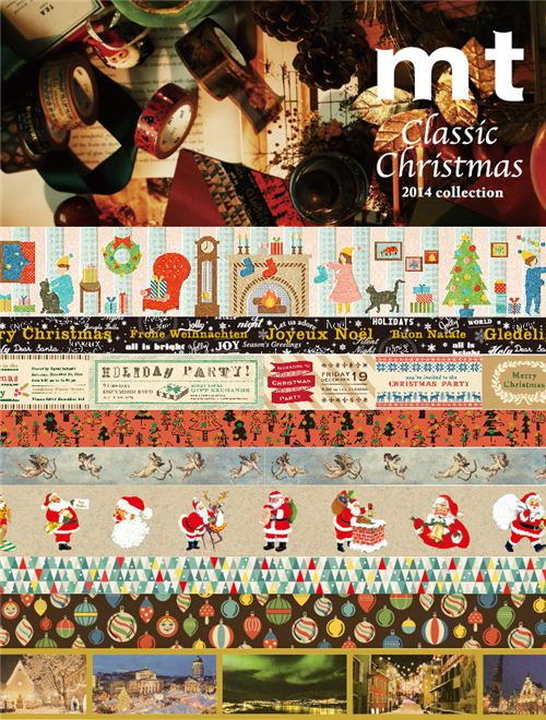 Check out the new mt Christmas Masking Tape collection in our shop