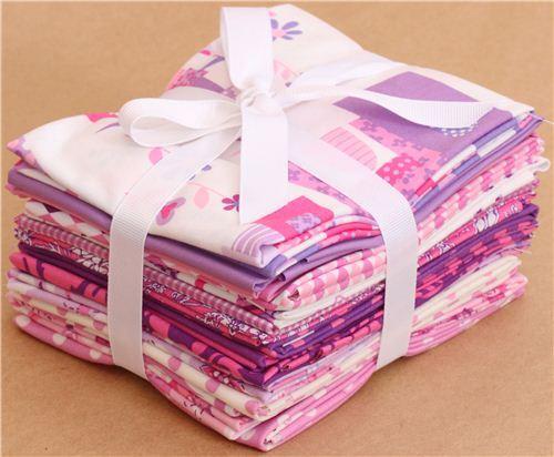 Fat Quarter fabric bundle Girl Thing Michael Miller USA