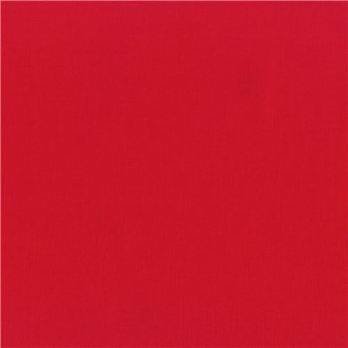 red laminate fabric by Robert Kaufman Kona Cotton Slicker
