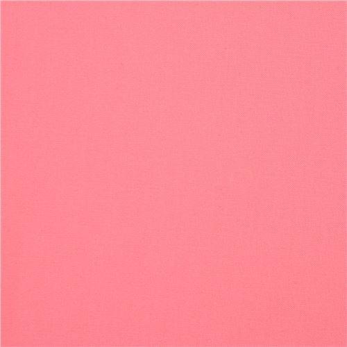 solid pink Kona fabric Robert Kaufman USA Pink Flamingo
