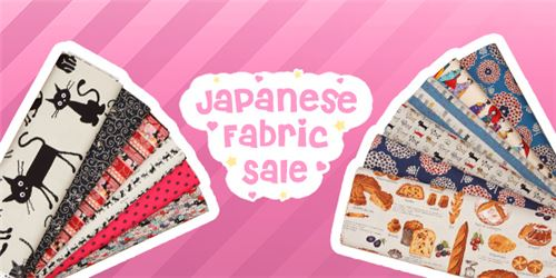 Check out our new Japanese Fabric Sale!