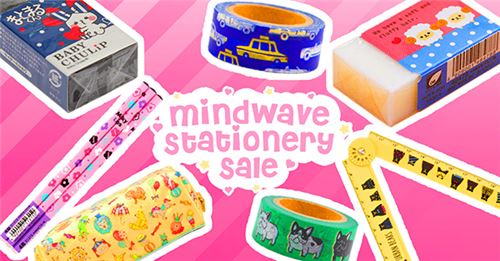 We have a new Mind Wave Stationery SALE!