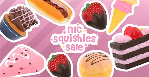 Get awesome NIC squishies on SALE!