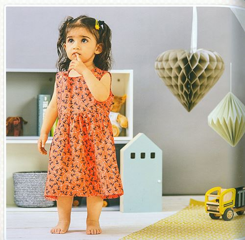 It's very easy for kids to get around in this little dress