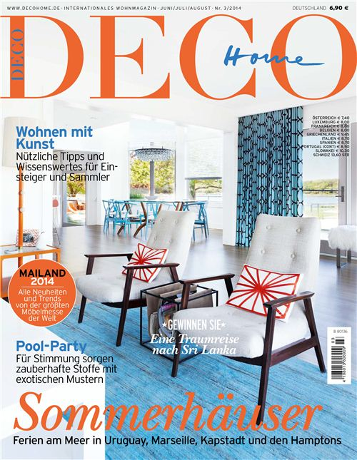 Our fabric is featured in this edition of Deco Home