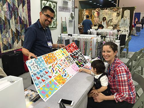 Our visit to the Quilt Market 2015 in Minneapolis: Part1 1