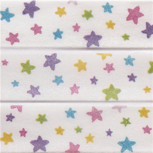 white star paper deco tape by Prime Nakamura