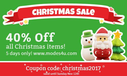 QUICK! Get 40% off Christmas goodies before our sale ends!!