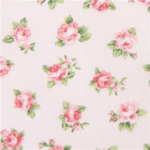 peach Robert Kaufman fabric flower Lady Elizabeth