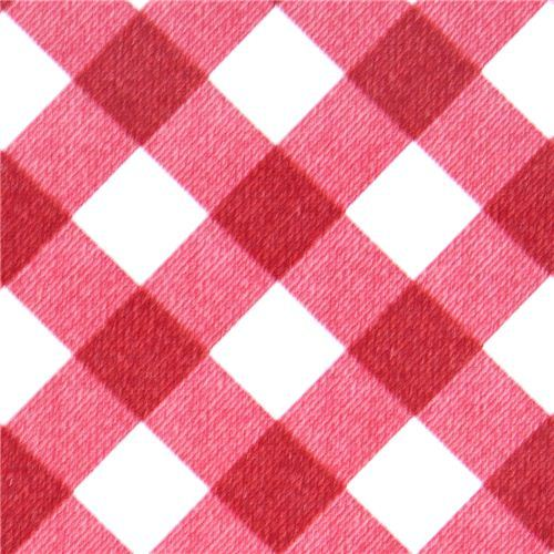 Michael Miller premium laminate fabric gingham checker