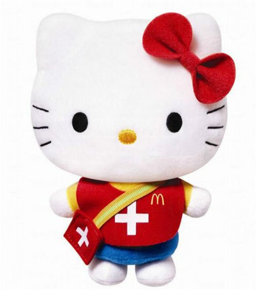 McDonald's K League Hello Kitty medic plush