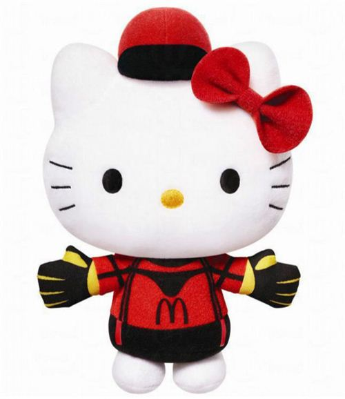 McDonald's K League Hello Kitty goal keeper plush