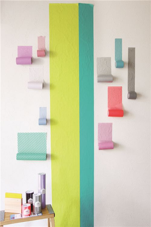 mt Casa Mashi Tapes are available in several bright colors and different widths
