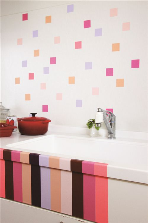 Some color for the bathroom
