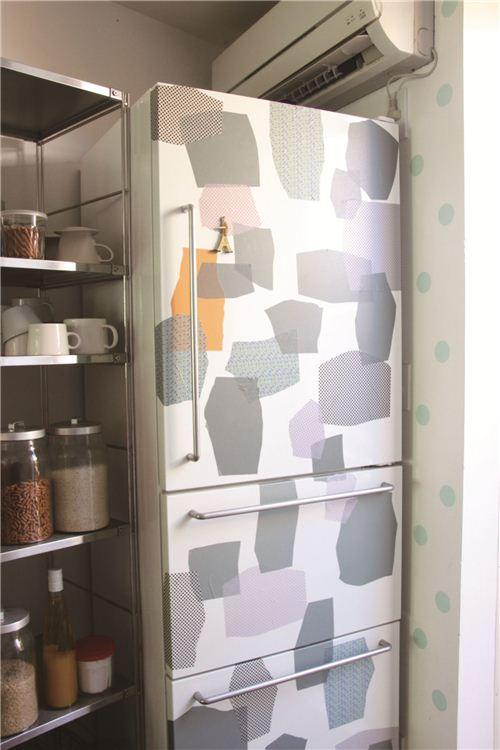 Abstract mt Casa fridge decoration