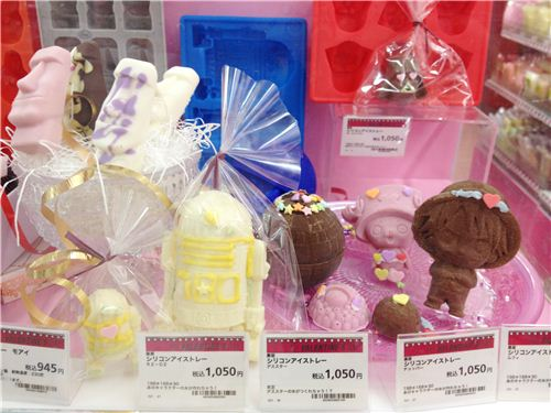 Incredible chocolate figures