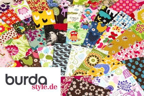 Join the big fabric giveaway on burdastyle.de