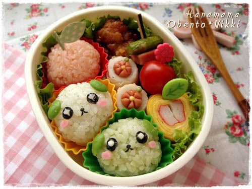 Super cute Mameshiba bento by Hana Mama Obento