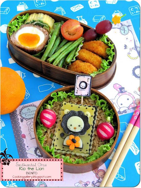 Looks amazing! Sentimental Circus bento by Cooking Gallery