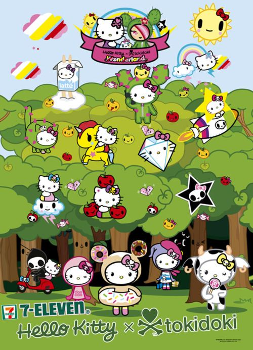 Tokidoki x Hello Kitty official poster