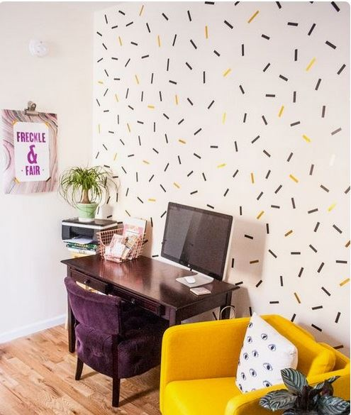 We love the sprinkles theme here! Image from freckleandfair.com