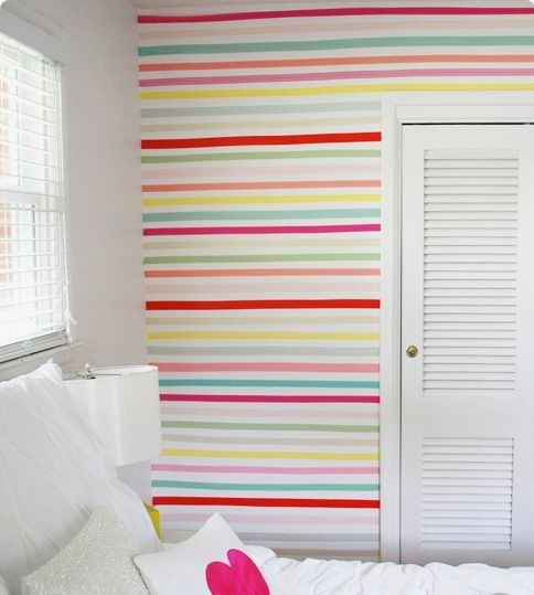 How cool and colorful are these stripes? Image from iheartnaptime.net
