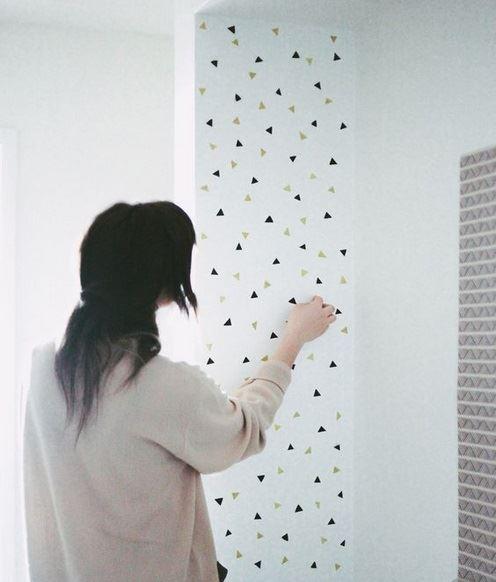 Cute and classy wall art! Image from treasuresandtravelsblog.com