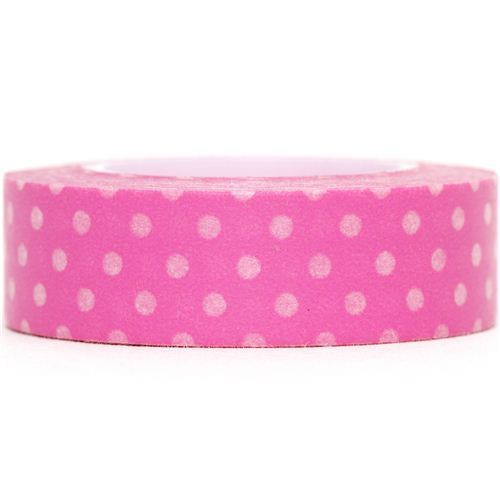 pink Washi Masking Tape deco tape dots