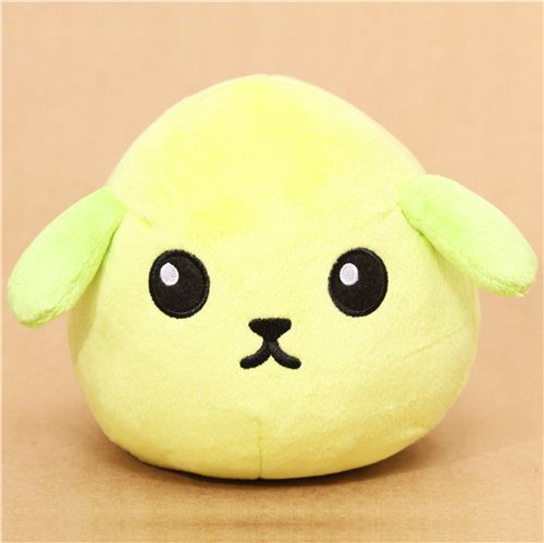 super big green Mameshiba bean dog plush toy