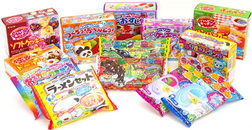 Those are the 13 super funny Popin Cookin sets we now have in our shop