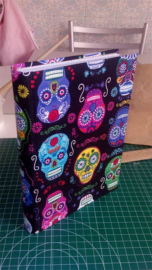 Ladymorgana Le Fay from Spain made gorgeous fabric book covers