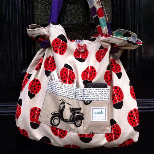 fabriekt.nl from the Netherlands sewed lovely bags with our fabrics