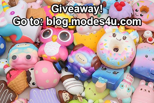 You can win your favorite item from modes4u.com!