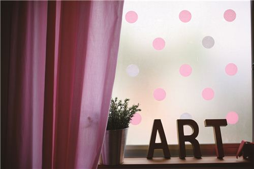 happy dot winds decoration with mt Masking Tapes