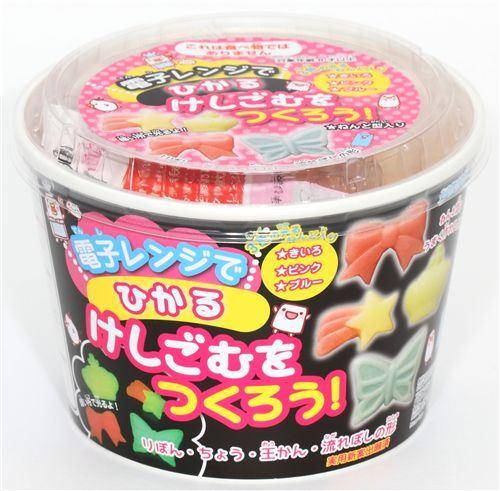 cute DIY eraser making kit Princess from Japan