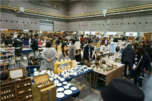 Many bento accessories were also present at the event