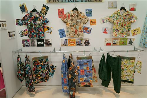 Stunning fabrics featuring popular characters
