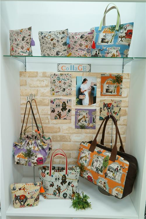 Gorgeous COllage designs as bags