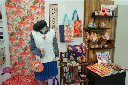 Lovely Asian-themed fabrics