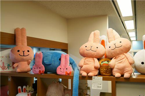 Cute bunny stuffed toys