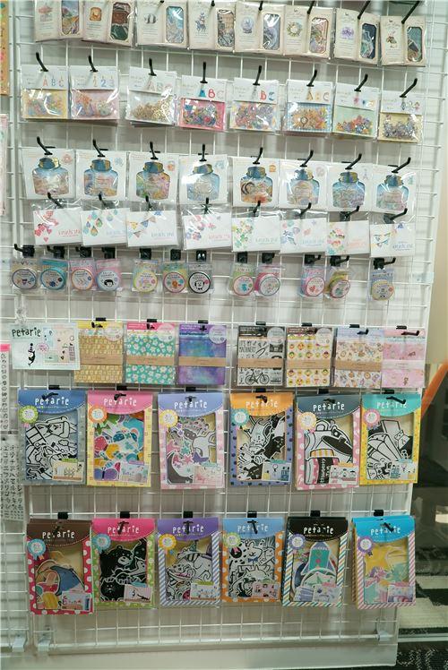 Lots of sticker sacks