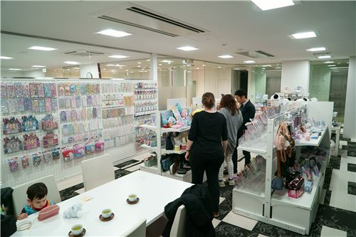 Q-Lia has a large variety of products