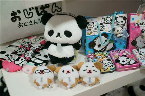 Even more funny Ojipan plush toys!
