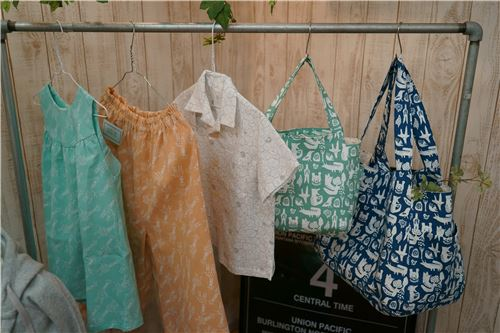 Their fabrics can be turned into practical, everyday items