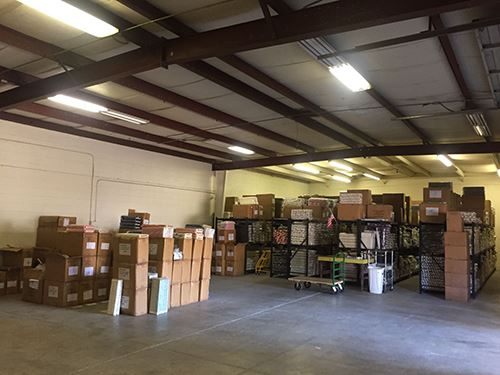 Their warehouse space