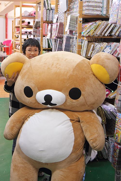 Sylvania needs to help wake up Rilakkuma for the interview!